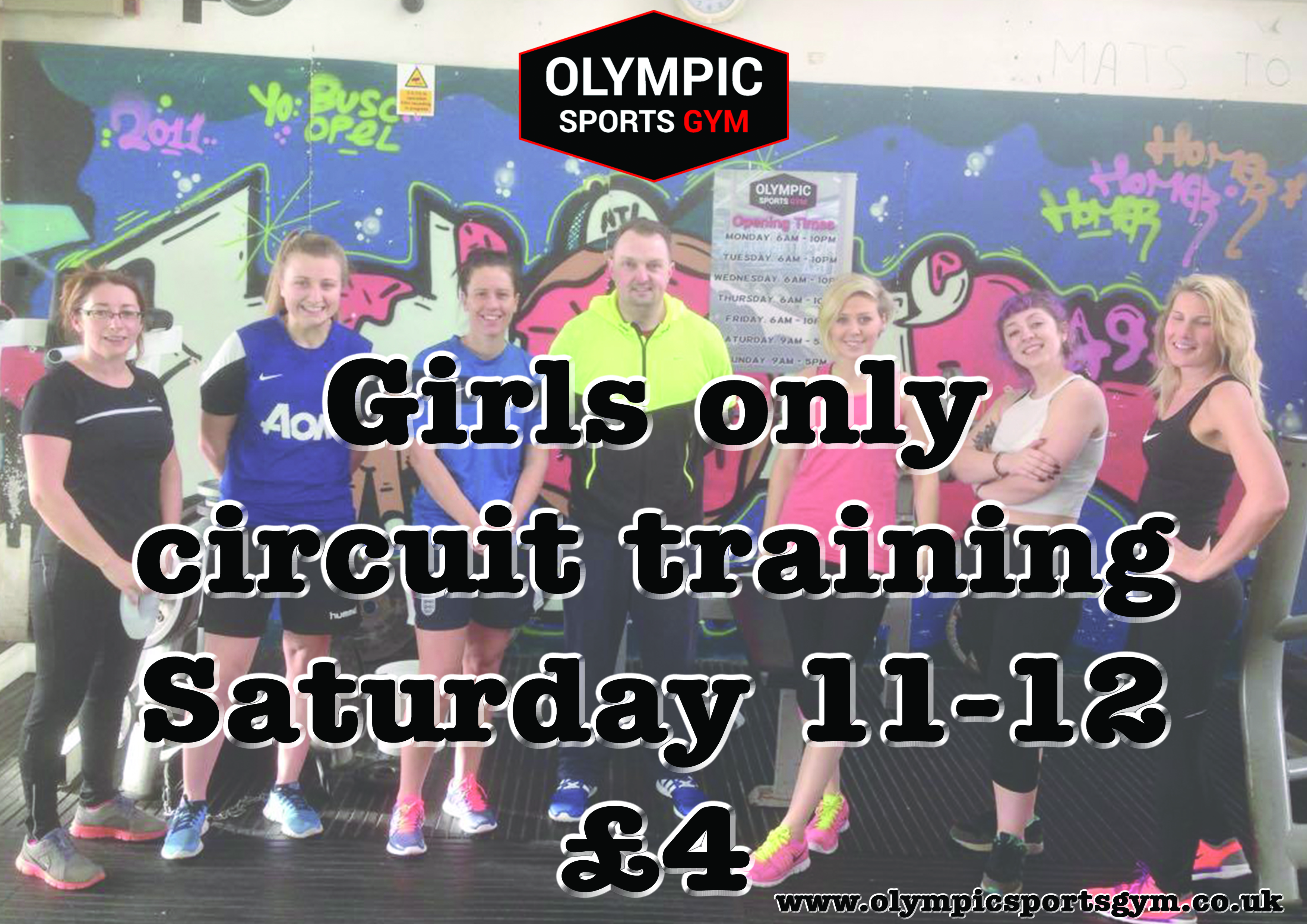 Girls only circuit.